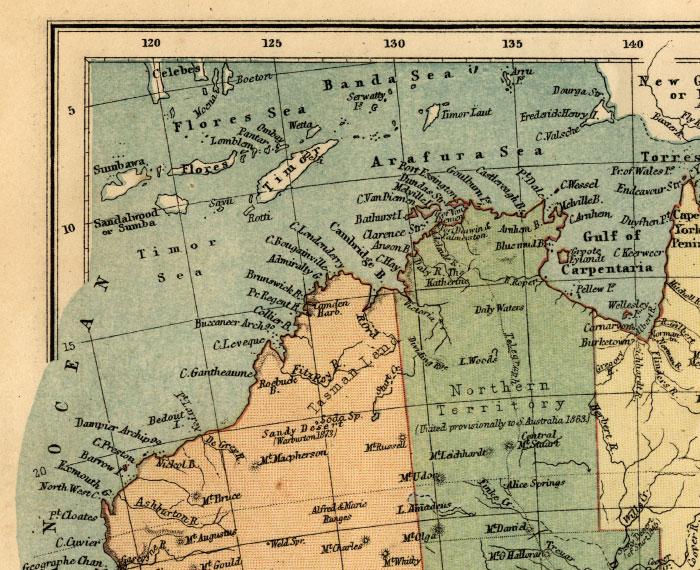 northwest australia map