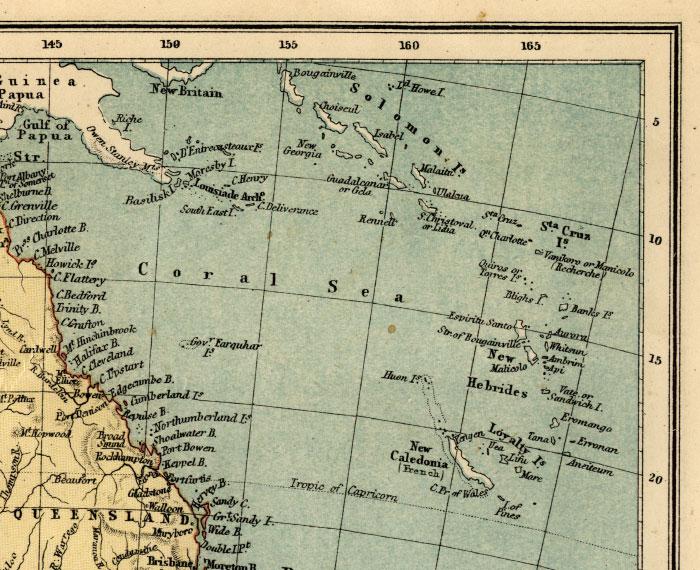 northeast australia map