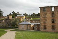 historic penal colony, Tasmania, Australia